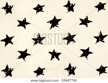 Stars Cotton Chintz