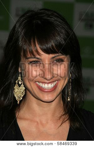 LOS ANGELES - NOVEMBER 08: Constance Zimmer at the 16th Annual Environmental Media Association Awards at Wilshire Ebell Theatre November 08, 2006 in Los Angeles