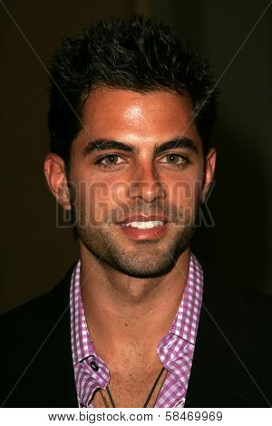 PASADENA - JULY 22: Adrian Bellani at the NBC TCA Press Tour at Ritz Carlton Huntington Hotel on July 22, 2006 in Pasadena, CA.
