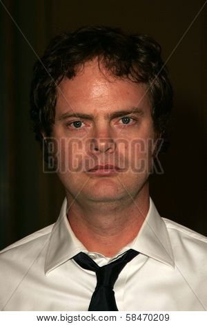PASADENA - JULY 22: Rainn Wilson at the NBC TCA Press Tour at Ritz Carlton Huntington Hotel on July 22, 2006 in Pasadena, CA.