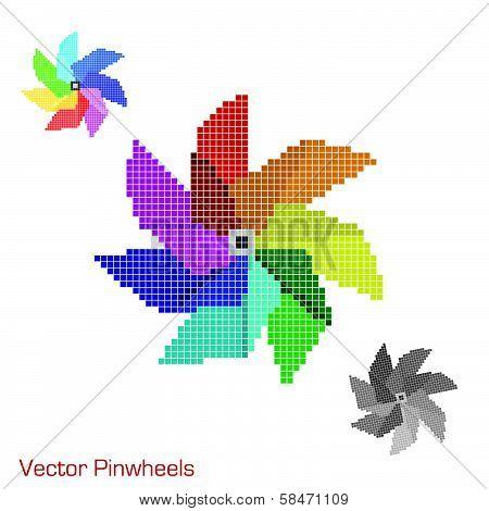 Mosaic Pinwheels
