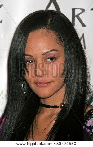 LOS ANGELES - NOVEMBER 12: Persia White at the 2006 Artivists Awards at Egyptian Theatre November 12, 2006 in Hollywood, CA.