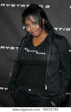 LOS ANGELES - OCTOBER 08: Shar Jackson at the Playstation 3 Launch Party October 08, 2006 in 9900 Wilshire Blvd, Beverly Hills, CA.