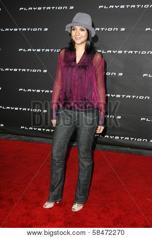 LOS ANGELES - OCTOBER 08: Catalina Sandino Moreno at the Playstation 3 Launch Party October 08, 2006 in 9900 Wilshire Blvd, Beverly Hills, CA.