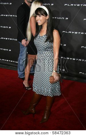 LOS ANGELES - OCTOBER 08: Lacey Chabert at the Playstation 3 Launch Party October 08, 2006 in 9900 Wilshire Blvd, Beverly Hills, CA.