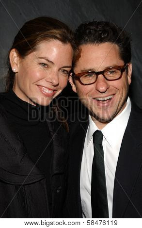 J.J. Abrams and Katie at the Billy Wilder Theater Opening Tribute. Hammer Museum, Westwood, California. December 3, 2006.