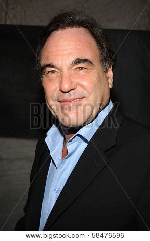 Oliver Stone at the Billy Wilder Theater Opening Tribute. Hammer Museum, Westwood, California. December 3, 2006.