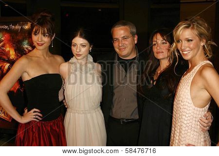 Mary Elizabeth Winstead, Michelle Trachtenberg, Glen Morgan, Kristen Cloke and Katie Cassidy at the Los Angeles Premiere of