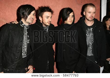 30 Seconds to Mars at the Hollywood Life Magazine's Breakthrough of the Year Awards. Music Box, Hollywood, California. December 10, 2006.