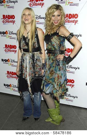 ANAHEIM, CA - JULY 22: Aly Michalka and AJ Michalka at the Radio Disney Totally 10 Birthday Concert on July 22, 2006 at Anaheim Pond in Anaheim, CA.