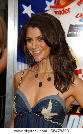 HOLLYWOOD - JULY 26: Samantha Harris at the Premiere Of