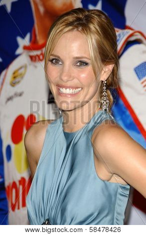 HOLLYWOOD - JULY 26: Leslie Bibb at the Premiere Of