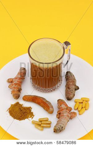 Various Forms Of Turmeric