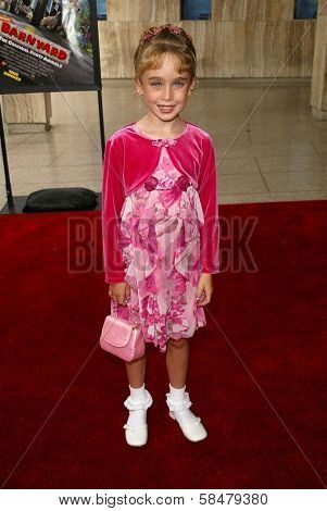 HOLLYWOOD - JULY 30: Madeline Lovejoy at the World Premiere of