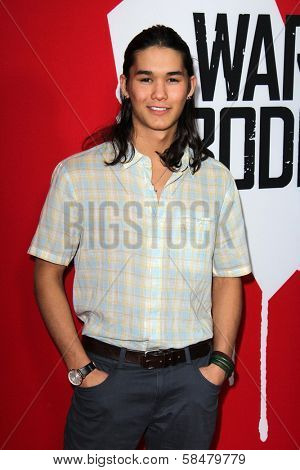 Booboo Stewart at the