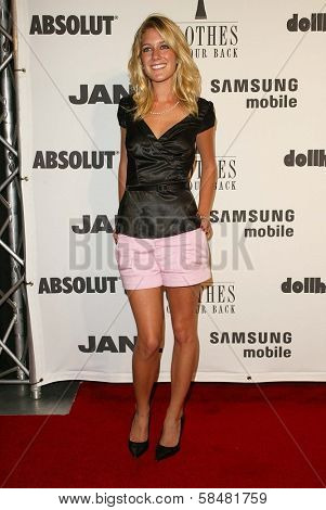 BEVERLY HILLS - JULY 20: Heidi Montag at Jane Magazine's
