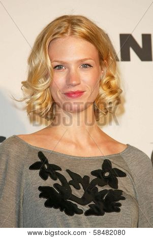 BEVERLY HILLS - JULY 20: January Jones at Jane Magazine's