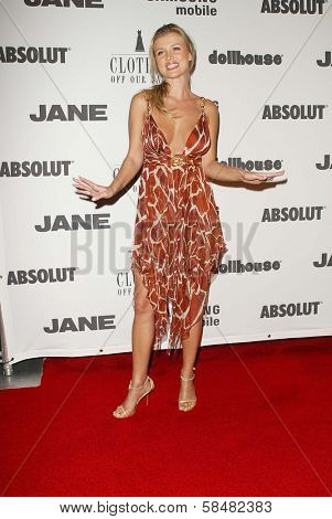BEVERLY HILLS - JULY 20: Joanna Krupa at Jane Magazine's