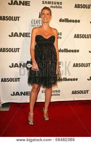BEVERLY HILLS - JULY 20: Heidi Klum at Jane Magazine's