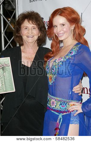 LOS ANGELES - JULY 27: Flora Price, Phoebe Price at the opening night of the