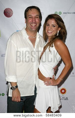 SANTA MONICA - JULY 23: Gabriel Jarret, Bridgetta Tomarchio at the Sexy Summer Soire Party hosted by H.U.G.E benefiting Heal The Bay at AKWA Restaurant and Club on July 23, 2006 in Santa Monica, CA.