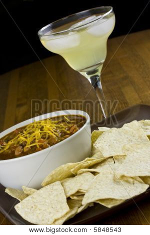 Chili, Margarita, And Chips
