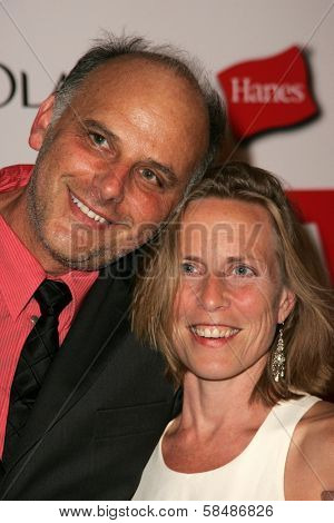 HOLLYWOOD - AUGUST 27: Kurt Fuller and Jessica Hendra at the TV Guide Emmy After Party August 27, 2006 in Social, Hollywood, CA.