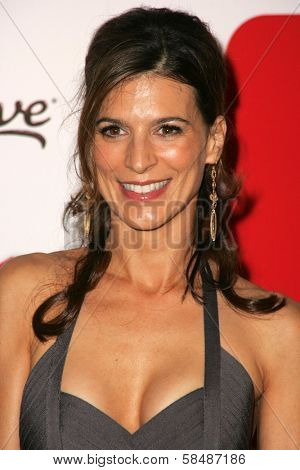 HOLLYWOOD - AUGUST 27: Perrey Reeves at the TV Guide Emmy After Party August 27, 2006 in Social, Hollywood, CA.