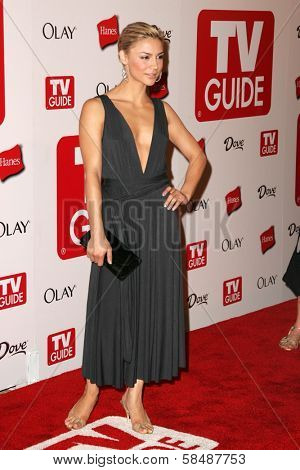 HOLLYWOOD - AUGUST 27: Samaire Armstrong at the TV Guide Emmy After Party August 27, 2006 in Social, Hollywood, CA.