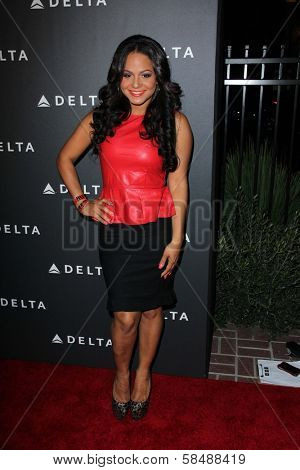 Christina Milian at Delta Airline's Celebration of LA's Music Industry, Getty House, Los Angeles, CA 02-07-13
