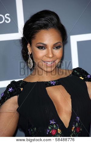 Ashanti at the 55th Annual GRAMMY Awards, Staples Center, Los Angeles, CA 02-10-13