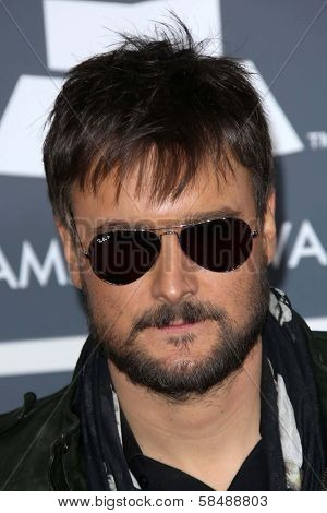 Eric Church at the 55th Annual GRAMMY Awards, Staples Center, Los Angeles, CA 02-10-13