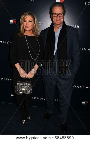 Kathy Hilton, Rick Hilton at the Tommy Hilfiger West Coast Flagship Grand Opening Event, Tommy Hilfiger, West Hollywood, CA 02-13-13