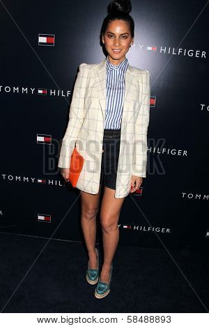 Olivia Munn at the Tommy Hilfiger West Coast Flagship Grand Opening Event, Tommy Hilfiger, West Hollywood, CA 02-13-13