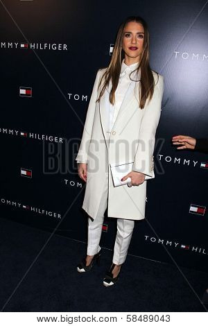 Jessica Alba at the Tommy Hilfiger West Coast Flagship Grand Opening Event, Tommy Hilfiger, West Hollywood, CA 02-13-13