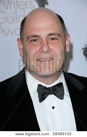 Matthew Weiner at the 2013 Writers Guild Awards, JW Marriott, Los Angeles, CA 02-17-13