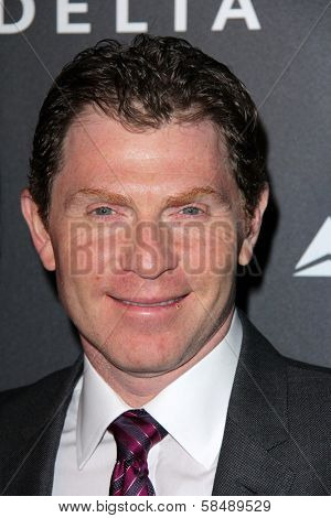 Bobby Flay at Delta Airline's Celebration of LA's Music Industry, Getty House, Los Angeles, CA 02-07-13