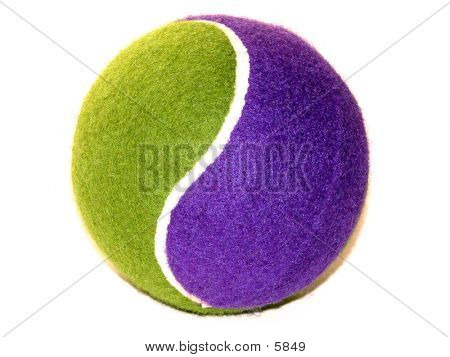 Tennis Ball (Purple & Green)