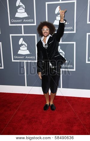 RedFoo at the 55th Annual GRAMMY Awards, Staples Center, Los Angeles, CA 02-10-13