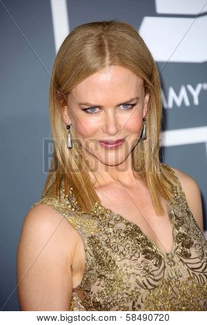 Nicole Kidman at the 55th Annual GRAMMY Awards, Staples Center, Los Angeles, CA 02-10-13