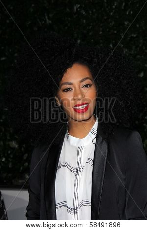 Solange Knowles at the Topshop Topman LA Opening Party, Cecconis, West Hollywood, CA 02-13-13