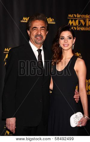 Joe Mantegna, Gia Mantegna at the 21st Annual Movieguide Awards, Universal Hilton Hotel, Universal City, CA 02-15-13