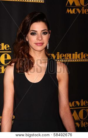 Gia Mantegna at the 21st Annual Movieguide Awards, Universal Hilton Hotel, Universal City, CA 02-15-13