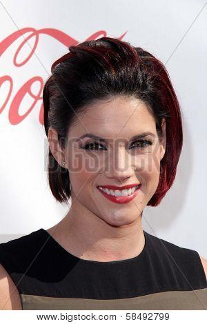 Missy Peregrym at the 3rd Annual Streamy Awards, Hollywood Palladium, Hollywood, CA 02-17-13