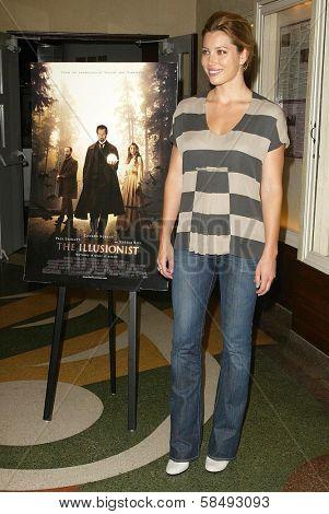 SANTA MONICA - JULY 28: Jessica Biel at the sneak preview of