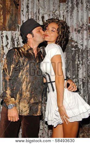 WEST HOLLYWOOD - JULY 30: Corey Feldman and Susie Sprague at Corey Feldman's Birthday Party at House of Blues July 30, 2006 in West Hollywood, CA