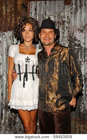 WEST HOLLYWOOD - JULY 30: Susie Sprague and Corey Feldman at Corey Feldman's Birthday Party at House of Blues July 30, 2006 in West Hollywood, CA