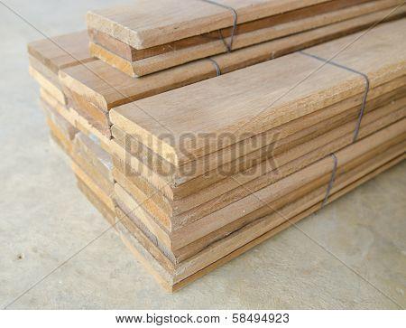 Prefabricated Slat Stacked