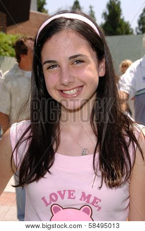 CULVER CITY - JULY 22: Hailey Anne Nelson at the