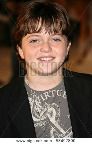 HOLLYWOOD - NOVEMBER 12: Dylan Blue at the world premiere of